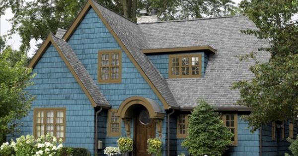 Black And Gray Exterior House In Lakeside Benjamin Moore Cabin And Brown On Pinterest