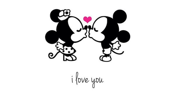 Just like Mickey and M...