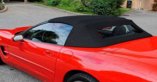 C5 Corvette Black Original Twillfast Convertible Top Convertible Top Convertible Have Good Day