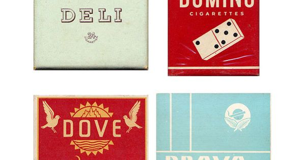 Vintage Packaging Design | Vintage Packaging: Collection of Cigarette Packs - The