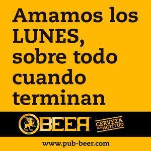 Lunes Humor De Cerveza Cerveza Y Logos De Cerveza