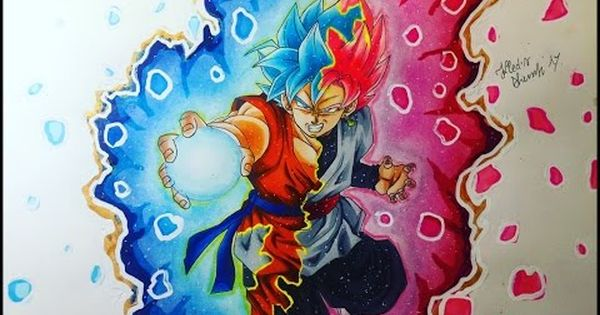 YouTube Goku Pinterest Black Roses How To Draw And Blue