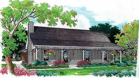 Plan 5506br Simple And Economical In 2021 Country Style House Plans Cottage Style House Plans Ranch Style House Plans