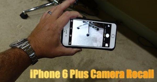Iphone 6 Plus Camera Recall Iphone 6 Plus Blurry Camera Fix Youtube Iphone 6 Plus Iphone Iphone 6