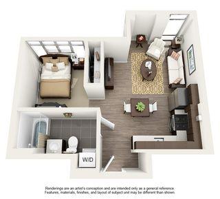 Quitinete Studio Kitnet Apartamentosolteiro Imovelpequeno Studio Apartment Floor Plans Apartment Floor Plans Apartment Layout