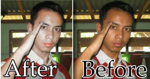 Tutorial For You Cara Cepat Memutihkan Wajah Dengan Photoshop Photoshop Wajah Pemutih