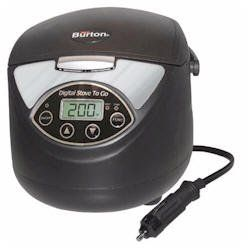 Max Burton Digital Stove To Go 12 Volt Slow Cooker Portable Stove Stove 12 Volt Appliances