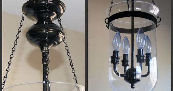 DIY Pottery Barn Light Fixture Tutorial | DIY projects ...