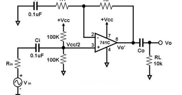 non inverting  u202a  u200eoperationalamplifier u202c is a dc