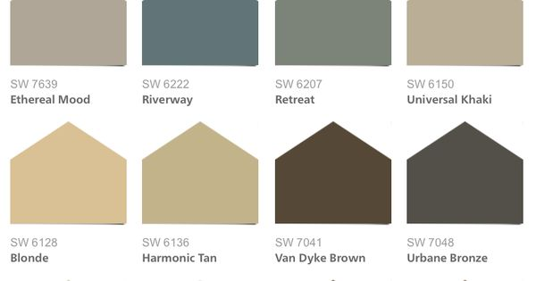 Sherwin williams hgtv home neutral nuance color palette - Sherwin williams exterior colors 2014 ...