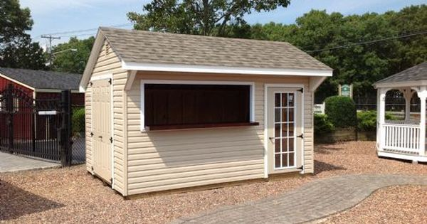 Basic idea for bar shed home sweet home pinterest for Pool shed with bar plans