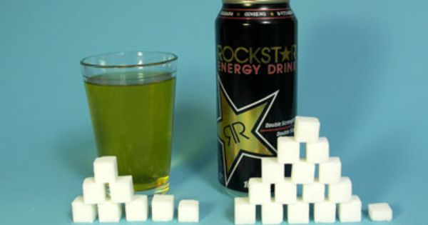 How Much Coffee Is In Ak Cup >> Rockstar Energy Drink 8 oz (240 ml) Serving Sugars, total: 31g Calories, total: 124 Calories ...