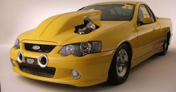 Twin Turbo V8 Falcon Xr8 Ute By Rdp Motorsport Aussie Muscle