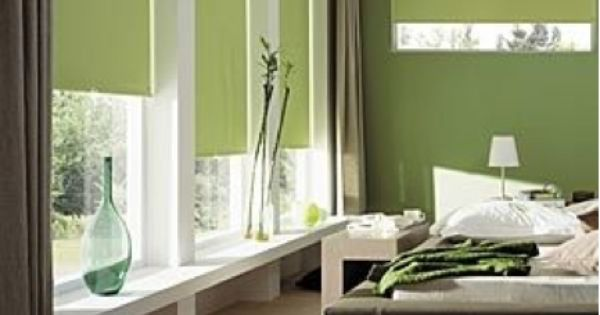 Association couleur avec le vert dans salon chambre for Association couleur peinture chambre