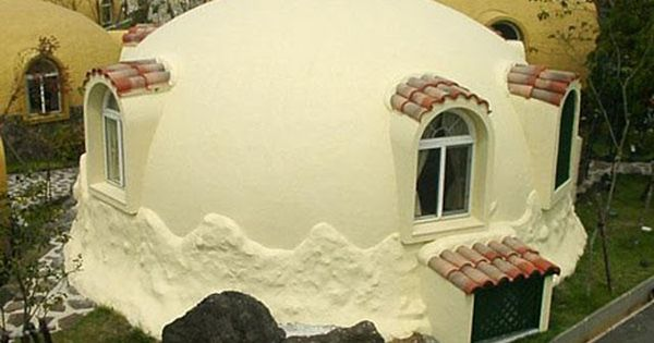 foam dome homes pink tentacle unusual houses and house