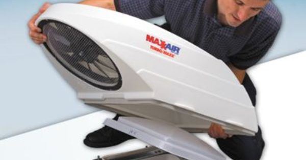 How To Install The Maxxair Turbo Maxx Rv Roof Fan Roof Fan Vintage Motorhome Gmc Motorhome