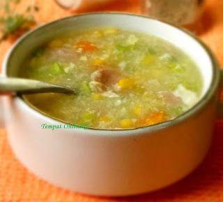 Resep Sup Jagung Cream Kental Yahud Resep Sup Resep Resep Makanan Cina