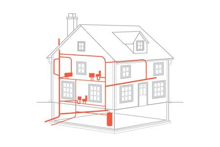 Plumbing In House Drawing Plumbing Learn All You Need
