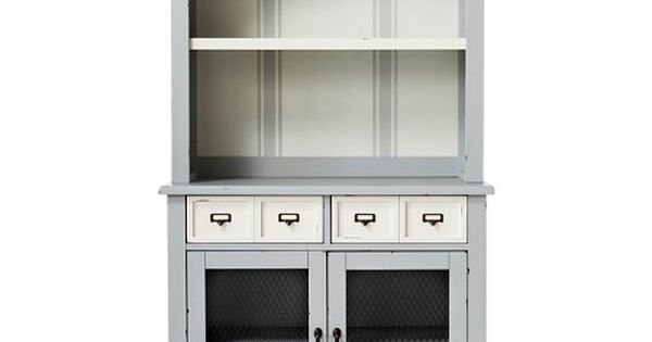 Westville Fully Assembled Distressed Buffet With Hutch Beekman 1802 Farmhouse Target