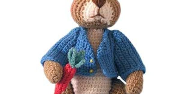 Amigurumi Peter Rabbit : Robbie Rabbit Crochet Pattern. The title of the pattern ...