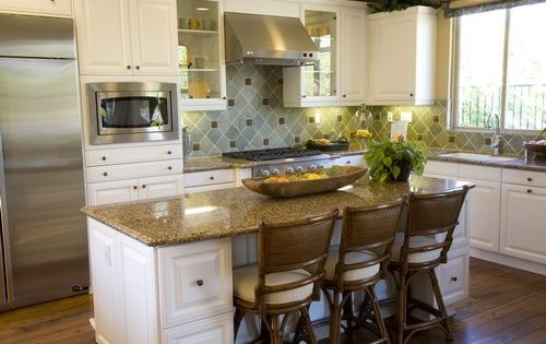 Discount kitchen islands with stools ultra luxury for Cheap kitchen island ideas