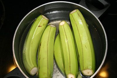 Recipe Of The Day Boiled Green Bananas Jamaican Dishes Boiled Banana Recipe Banana Recipes