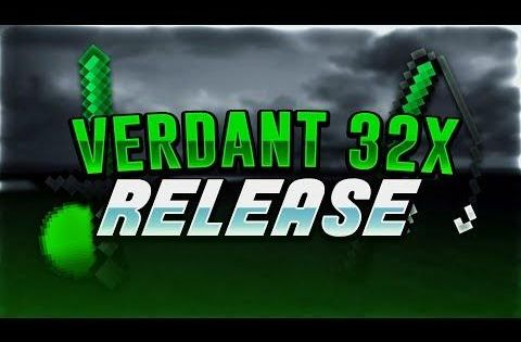 Verdant 32x Green 32x Fps Pack Minecraft Pvp Texture Pack