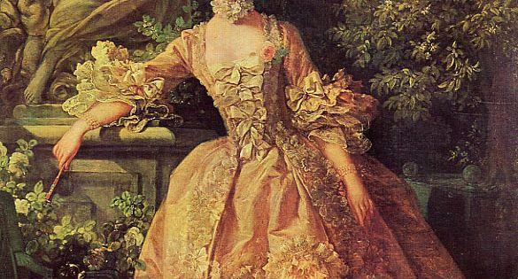Madame de pompadour 1759 damas antiguas vintage for Erotismo d epoca
