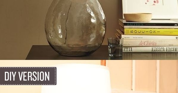 how to turn a glass bottle into a lamp