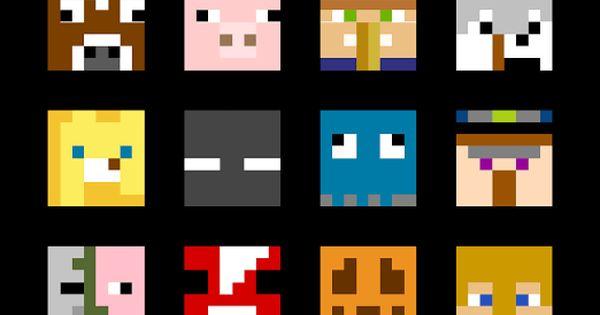Free Minecraft Quilt Pattern Pinteres