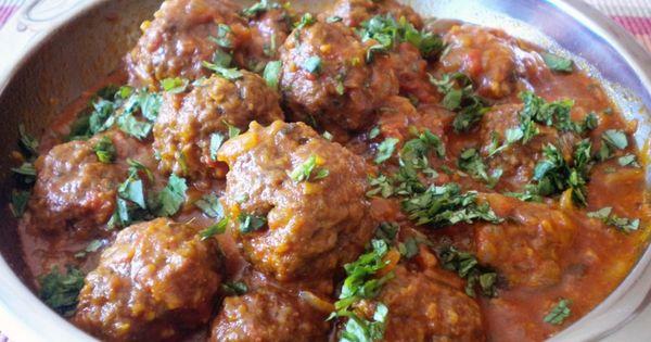 Boulettes d 39 agneau la pakistanaise plats pinterest - La cuisine pakistanaise ...