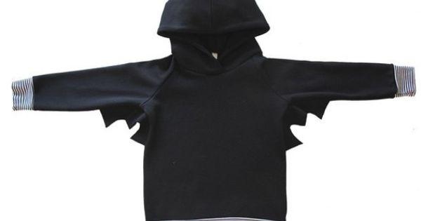 Bat-cape hoodie $43
