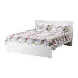 Malm Bettgestell Hoch Weiss Ikea Deutschland Franzosisches Bett Bett Lagerung Und Ubergrosse Betten