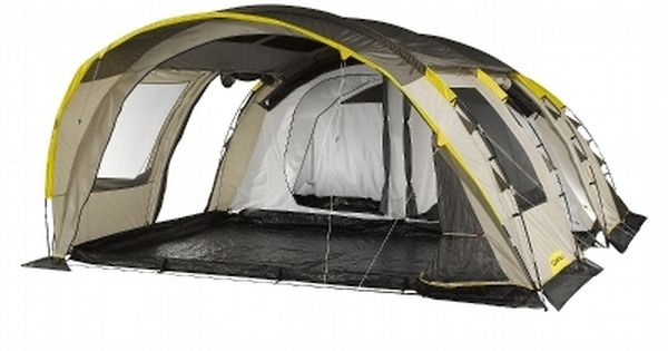 Tentes randonn e escalade trail tente 6 places 2 for Tente decathlon 2 chambres