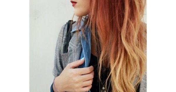 #copper red blonde orange copperhair redhair blondehair orangehair copperombre redombre blondeombre orangeombre