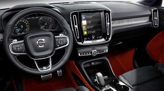 Volvo Xc40 Interior Volvo Cars Uk Volvo Cars