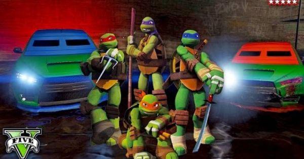 Gta 5 Online Ninja Turtles Special Teenage Mutant Ninja Turtles