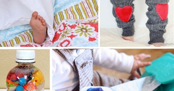 15 {Precious} Homemade Gifts For A 1 Year Old