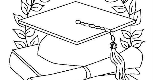 Dibujos De Graduación De Preescolar Para Colorear