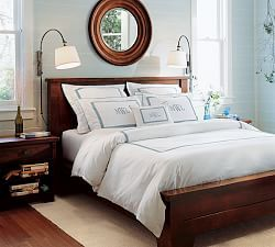 Hudson Bed Pottery Barn Mahogany Bedroom Furniture Barn