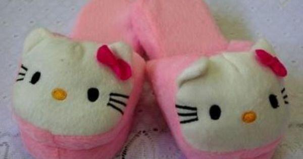 Hello Kitty Hello Kitty Kitty Bedroom Slippers