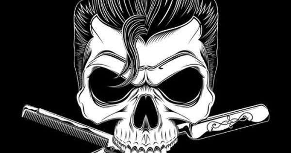 moderngrease greaser psychobilly rockabilly skull art pomade pinterest psychobilly posts. Black Bedroom Furniture Sets. Home Design Ideas