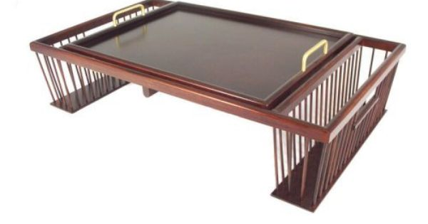 Breakfast In Bed Tray Dark Satin By Ronel 119 00 Writing Table Converts From Bed Tray Read Comfortably Using Our Bed Tray A Bed Tray Breakfast In Bed Tray