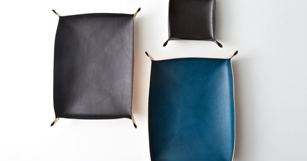 Leather Trays  leather  Pinterest