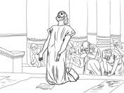 Parable Of The Wedding Feast Coloring Page Free Printable