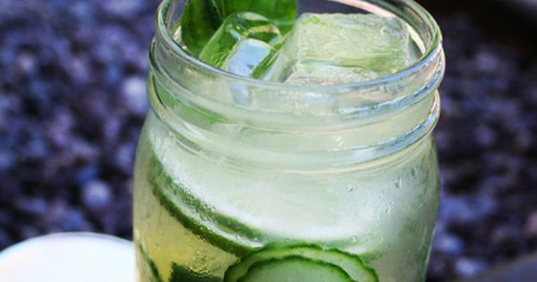 Skinny Cucumber Basil Lemonade by Lazydogcafe, | Summmer Time ...