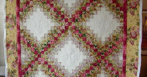 Colorwash Irish Chain Irish Chain Quilts Pinterest