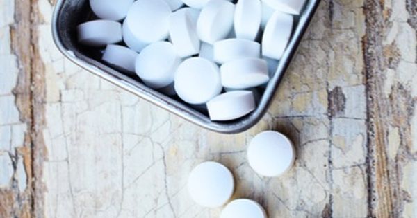 Homemade breath mints