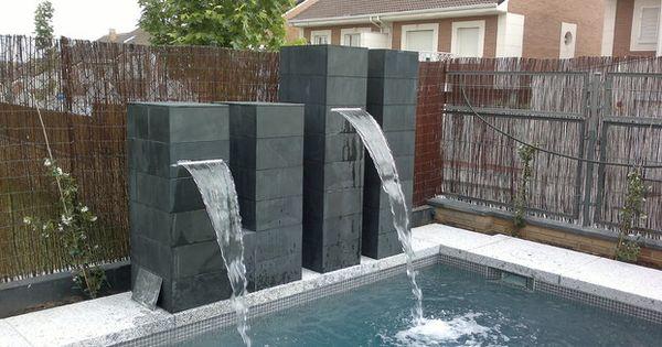 Cascada piscina accesorios pinterest hot tubs - Accesorios para jacuzzi ...