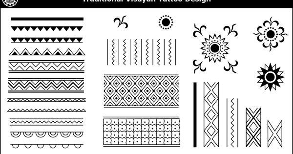 Visayan Tribal Tattoo Designs